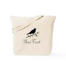Personalizable Bird Silhouette Tote Bag