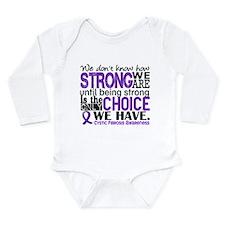 CF HowStrongWeAre Long Sleeve Infant Bodysuit