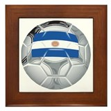 Argentina Football Framed Tile