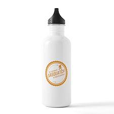 Orange Sasquatch Of North America Water Bottle