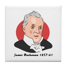 James Buchanan Tile Coaster