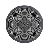 DIZZY, CRAZY, WA-WA Wall Clock