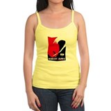 Nobody Surfs Like a Jersey Girl Tank Top