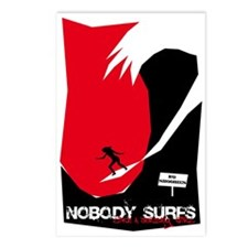 Nobody Surfs Like a Jersey Girl Postcards (8)