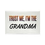 Trust ME, I'm the GRANDMA Rectangle Magnet (10 pac