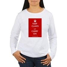 Keep Claws and Carry On Long Sleeve T-Shirt