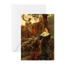 Chivalry Blank Greeting Cards (Pk of 10)