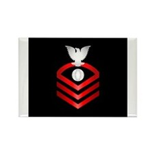 Cute Navy officer Rectangle Magnet