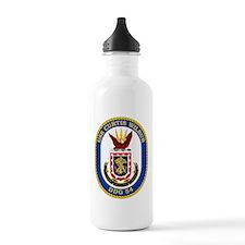 USS Curtis Wilbur DDG-54 Water Bottle