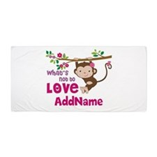 Whats Not to Love Personalized Beach Towel
