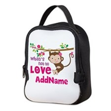 Whats Not to Love Personalized Neoprene Lunch Bag