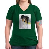 Tri Color Sheltie Bath Shirt