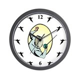 Cool Shrine Wall Clock