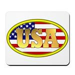 Patriotic USA Mousepad