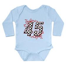 Funny Super girl Long Sleeve Infant Bodysuit