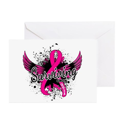Surviving Since 2011 Bre Greeting Cards (Pk of 10)