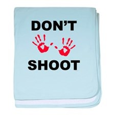 Hands Up - Don't Shoot baby blanket