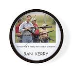 Kerry the Assault Weapon -- Wall Clock