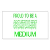 ...Spiritualist Medium... Rectangle Decal