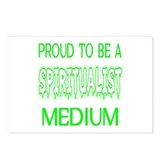 ...Spiritualist Medium... Postcards (Package of 8)