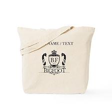 Custom Bigfoot Logo Tote Bag
