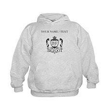 Custom Bigfoot Logo Hoodie