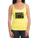 Starry Night & Schipperke Jr. Spaghetti Tank