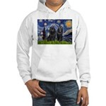 Starry Night & Schipperke Hooded Sweatshirt