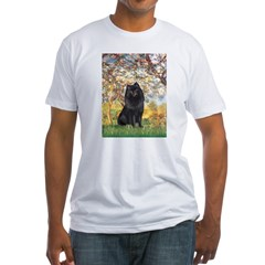 Spring & Schipperke Fitted T-Shirt