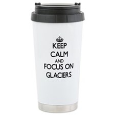Unique Glaciers Travel Mug