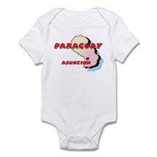 Paraguay Map Infant Bodysuit