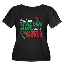 Italian Girls In California Plus Size T-Shirt