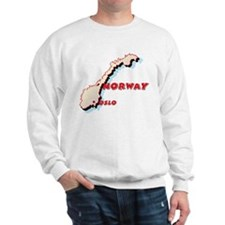 Norway Map Sweatshirt
