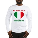 Petrarca, Valentine's Day Long Sleeve T-Shirt