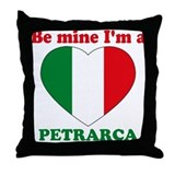Petrarca, Valentine's Day Throw Pillow