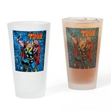 Thor Blue Storm Drinking Glass
