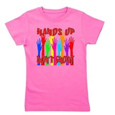 Hands Up Don't Shoot Girl's Tee