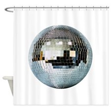 Spazzoid Disco Ball Shower Curtain