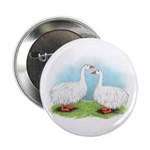 Sebastopol Goose Pair Button