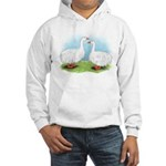 Sebastopol Goose Pair Hooded Sweatshirt