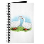 Sebastopol Goose Pair Journal
