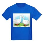 Sebastopol Goose Pair Kids Dark T-Shirt