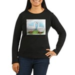 Sebastopol Goose Pair Women's Long Sleeve Dark T-S