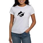 Spade & Neutered (black) Women's T-Shirt