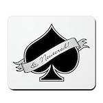 Spade & Neutered (black) Mousepad