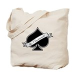 Spade & Neutered (black) Tote Bag