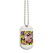Unique Blonde girl Dog Tags