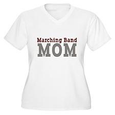 maroon_grey_mom_bl Plus Size T-Shirt