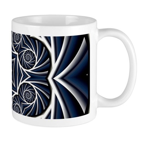 Whirlpool Pattern Mugs