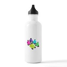 Roller Derby Peeps Water Bottle